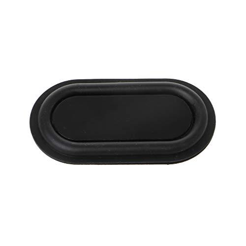 SimpleLife Speaker Radiator Vibrationsplatte, Bass-Lautsprecher Passiver Kühler Zusatz-Bass-Gummi-Vibrationsplatte (1 Stück)