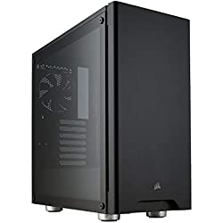 Corsair Carbide 275R Case da Gaming, Mid-Tower ATX in Vetro Temprato, Nero