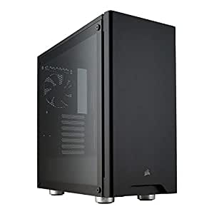 Corsair Carbide Series 275R Tempered Glass Mid-Tower ATX Gaming Case - Black