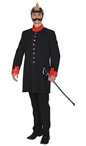 historische Uniformjacke zu Herren Kostüm an Karneval Fasching Gr.52 (Historische Kostüme)
