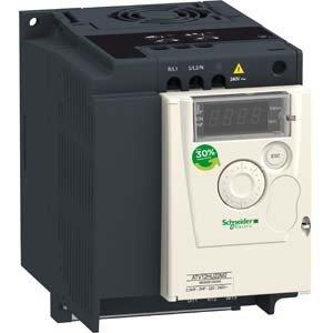 Schneider ATV12HU15M2 Frequenzumrichter ATV12, 1, 5kW, 2HP, 200.240V, 1-PH. mit Kühlkörper