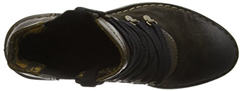 FLY London Damen Suzu Kurzschaft Stiefel Beige (Sludge/olive 002)