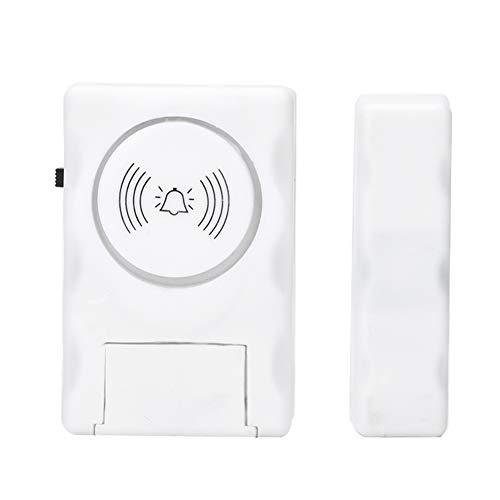 ASHATA Smart Home Tür- und Fenstersensor, Drahtlose Smart Fenster Tür Sensor Alarm System,Diebstahlsicherung Magnetisch Tür-/Fensteralarm Sicherheit Alarmanlage Vibrationsalarm