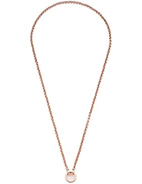 Leonardo Damen-Erbskette Darlin's Pea roségold Edelstahl