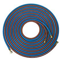 Pair Oxygen & Acetylene Fitted Hose 6mm x 10m