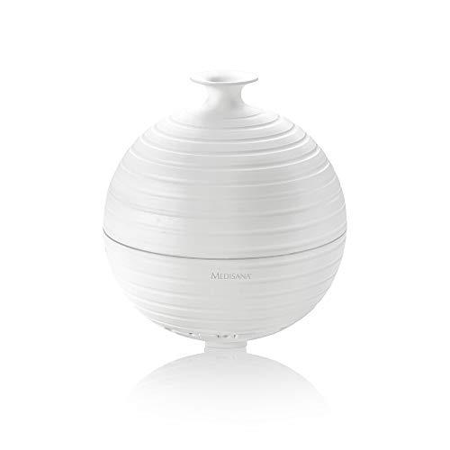 Medisana AD 620 Aroma Diffuser - für einen angenehmen Raumluft zur Aromatherapie - Aromadiffusor mit LED Wellnesslicht in 5 Farben - Timer - Ultrasschalltechnologie - 300 ml - 60082