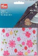 prym-40x-10cm-cotton-flower-reparatur-spannbetttuch-pink-mehrfarbig