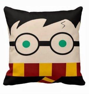 NKaylockstore How cute is this Harry Potter pillow VV-1160 Linen Decorative Pillowcase/Fundas para almohada...