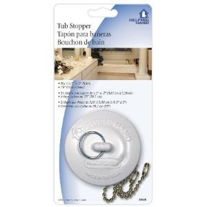 Tub Stopper With Chain (3-pack) Test