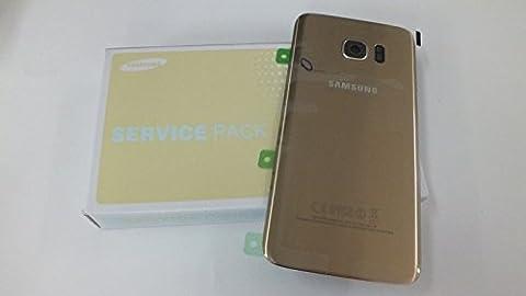 Samsung G935F Galaxy S7 Edge Akkufachdeckel Original gold