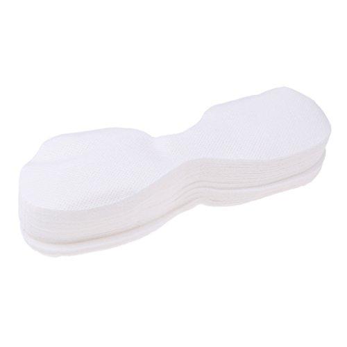 Sharplace 600x Papier Yeux Masque en Coton Super Absorbant de Lotion - Soins de Beauté