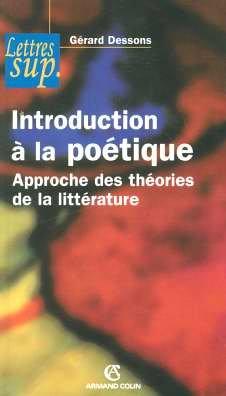 Introduction à la poétique : Approche des théories de la littérature