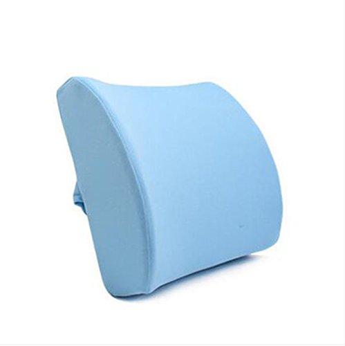 Car Memory Cotton Waist Back Pad Coussins de taille Chaise de bureau Lumbar Waist Pad Waist Pillow Oreiller de voiture (Couleur : A6)