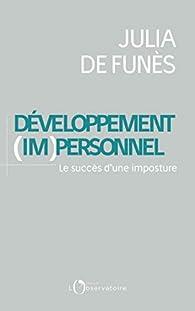 Le développement (im)personnel par Julia de Funès