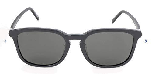 Montblanc MONT BLANC Herren Mb586S-F Sonnenbrille, Schwarz, 55