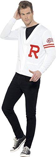 Smiffys 42898L - Herren Rydell Prep Kostüm, Grease, -