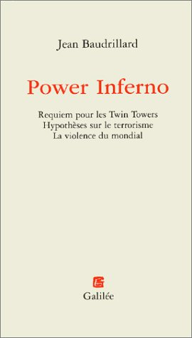 Power Inferno par Jean Baudrillard