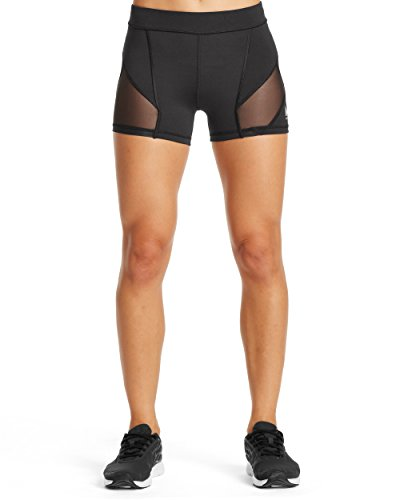 MISSION Damen vaporactive Spannung 7,6 cm Kompression Shorts, Damen, Moonless Night, M - Shorts Boxing Nike