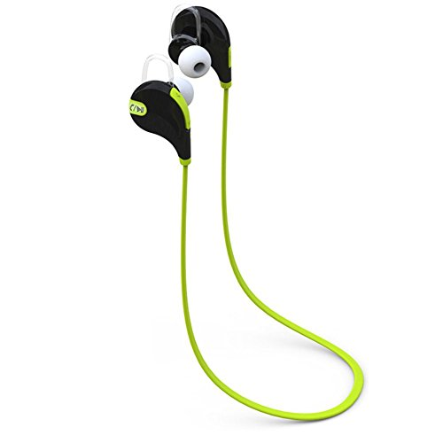 ESTAR HTC HD mini Compatible Wireless Sports Headphones with Mic || Noise Cancellation || Sweatproof Earbuds, Best for Running,Gym || Stereo Sound Quality-GREEN  available at amazon for Rs.999