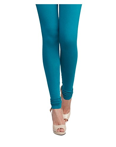 Yepme Women's Blue Blended Leggings - YPMLGGN5042_L  available at amazon for Rs.179