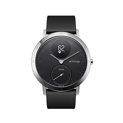 Withings / Nokia Steel HR Hybrid Smartwatch - Fitnessuhr mit Herzfrequenz und Aktivitätsmessung - Garmin Gps-herzfrequenz-monitor