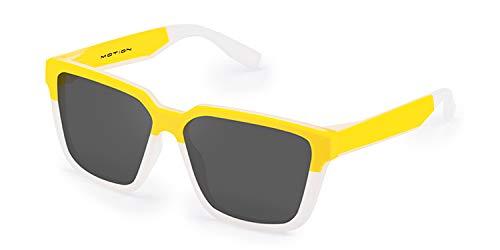 Hawkers Motion Gafas de sol, Yellow · Frozen White, One Size Unisex