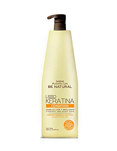 Be Natural - Acondicionador Liso Keratina 1000 ml