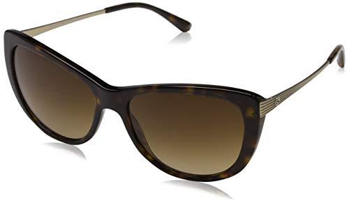 Armani Damen 0AR8078 502613 56 Sonnenbrille, Dark Havana/Browngradient,
