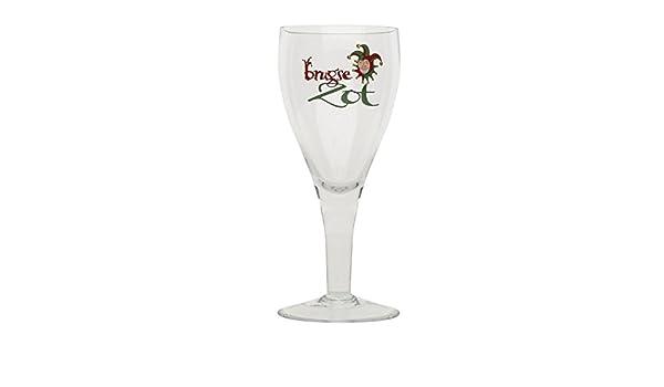 Brugse Zot Original Bierglas 33 cl Glas belgisches Bier