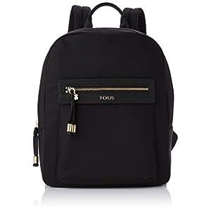 31MQz0FKYzL. SS300  - TOUS 695810087, Bolso mochila para Mujer, Negro (Negro), 26x33x9.5 cm (W x H x L)