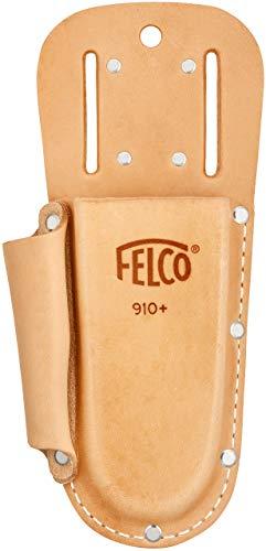 FELCO Albero di cesoie Traeger N. 910+ in Pelle con Tasche, Marrone, 35x 15x 5cm