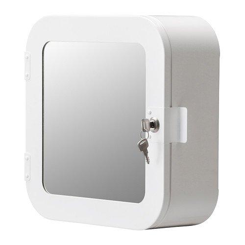 IKEA-GUNNERN-armario-con-cerradura-blanco-32-x-32-cm