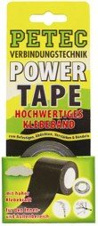 Petec 86105 Power Tape SB, Schwarz