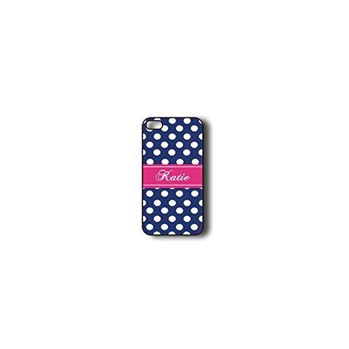 krezy monogramme iPhone 6Plus Coque, coloré Motif chevron à pois avec iPhone 6Plus Coque Monogramme, MONOGRAMME pour iPhone 6Plus, iPhone 6Plus Coque Housse