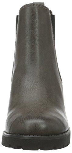 Boots Tozzi 25437 Grigio 248 nubuck anthrac Donna Chelsea Marco wavztz