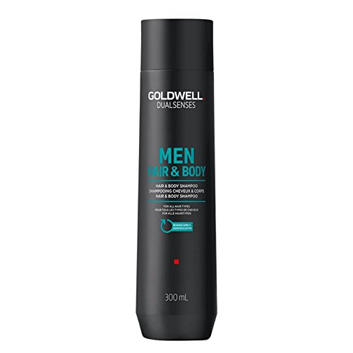 Body-shampoo (Goldwell Dualsenses for Men Hair und Body Shampoo, 1er Pack, (1x 300 ml))