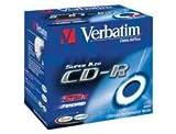 Verbatim CD-R 700 MB CD-Rohlinge, 52fach, 10 Stück
