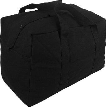 Mil-Spec Adventure Gear Plus msa15–1145001000Parachute Cargo Tasche, Schwarz