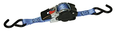 Preisvergleich Produktbild Kerbl 37181 Automatik Zurrgurt 25 mm/3 m, Zugkraft 300/600 kg, S-Haken