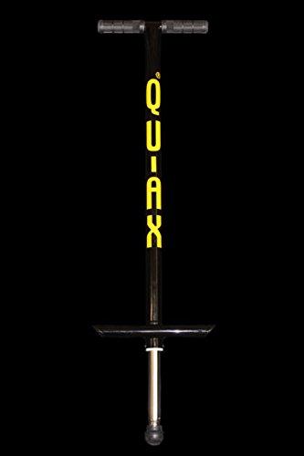 Quax Adult Pogo Stick Up to 80kgs Black by Qu Ax