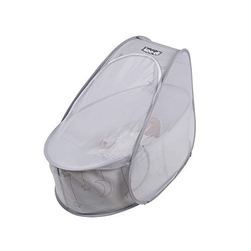 Koo-di Pop Up Bassinet - Grey
