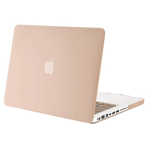 chutzhülle Nur für kompatibles altes MacBook Pro 13 Zoll (A1278 CD-ROM), Veröffentlichung Anfang 2012/2011/2010/2009/2008, Camel ()