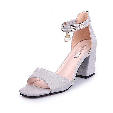 Scarpe DonnaDonne Sandali Primavera Estate Club scarpe gladiatore Tutti termini Moda Comfort Suede US6.5-7 / EU37 / UK4.5-5 / CN37