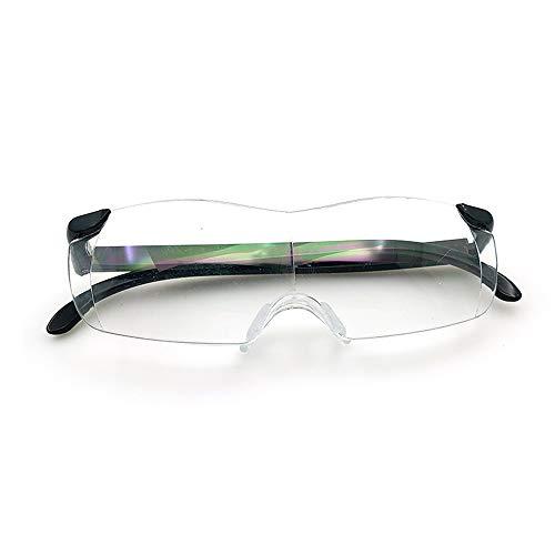 ßÃT Big Vision Lupa, Gafas de Lectura 160% Lupas Aumento joyería, Sellos y Precios en Efectivo, etc.