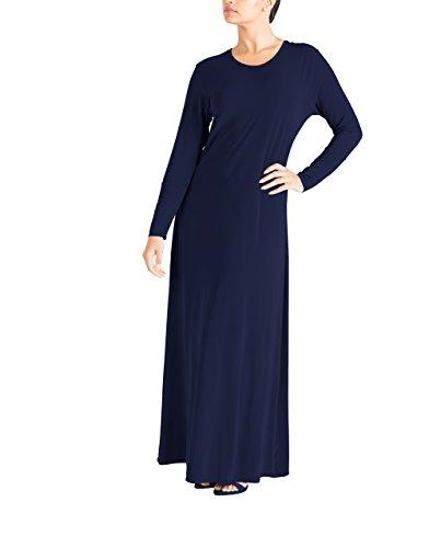 Marokkanische Kleidung Für Frauen (Essential Abaya - Navy 14 58)