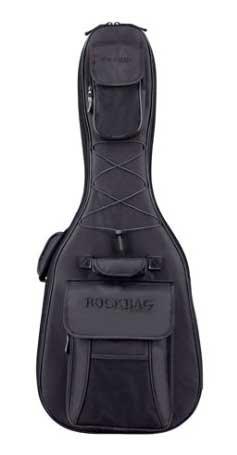 ROCKBAG RB20507 STARLINE Gigbag Hollow-Body E-Guitar, negro