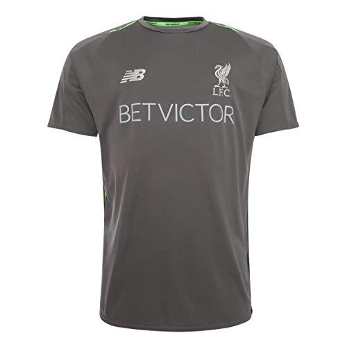 New Balance FC Liverpool Elite Trainingsshirt Herren grau, S