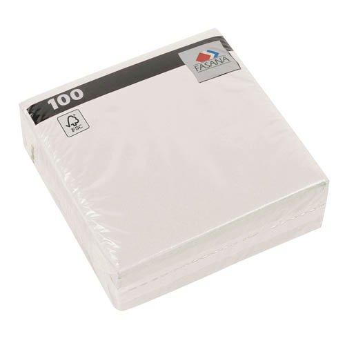 x 33 cm, 100 Stk. - Papierservietten Imbissservietten (Schulbedarf Billig)