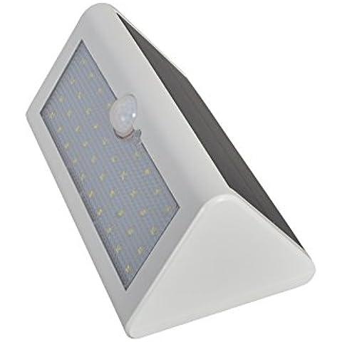 XYD 5W Pannello Energia Solare Parete Luce LED Giardino Esterno Lampada SW03 (Cap Tetto Di Scarico)