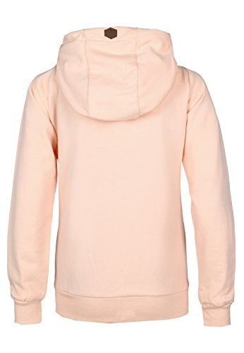 Sublevel Damen Kapuzenpullover Orange